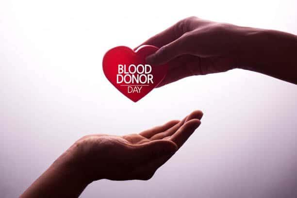 informed healthcare solutions blood donor june 2019 newsletter handing blood donor heart hands