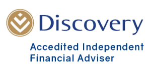 discovery life insurance accredited independent financial adviser small logo