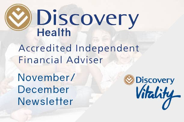 informed healthcae solutions discovery newsletter november-december 2020 accredited financial advisor vitality